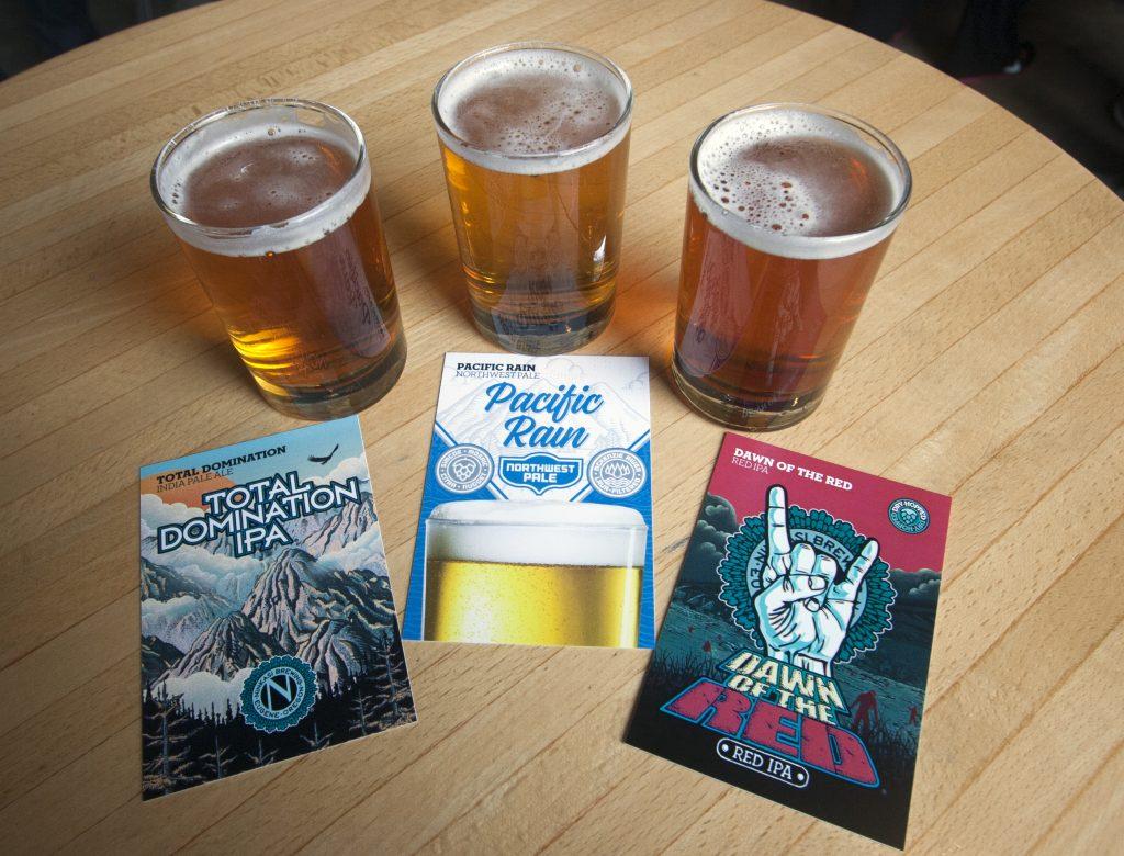 Flight of Relevant Beers